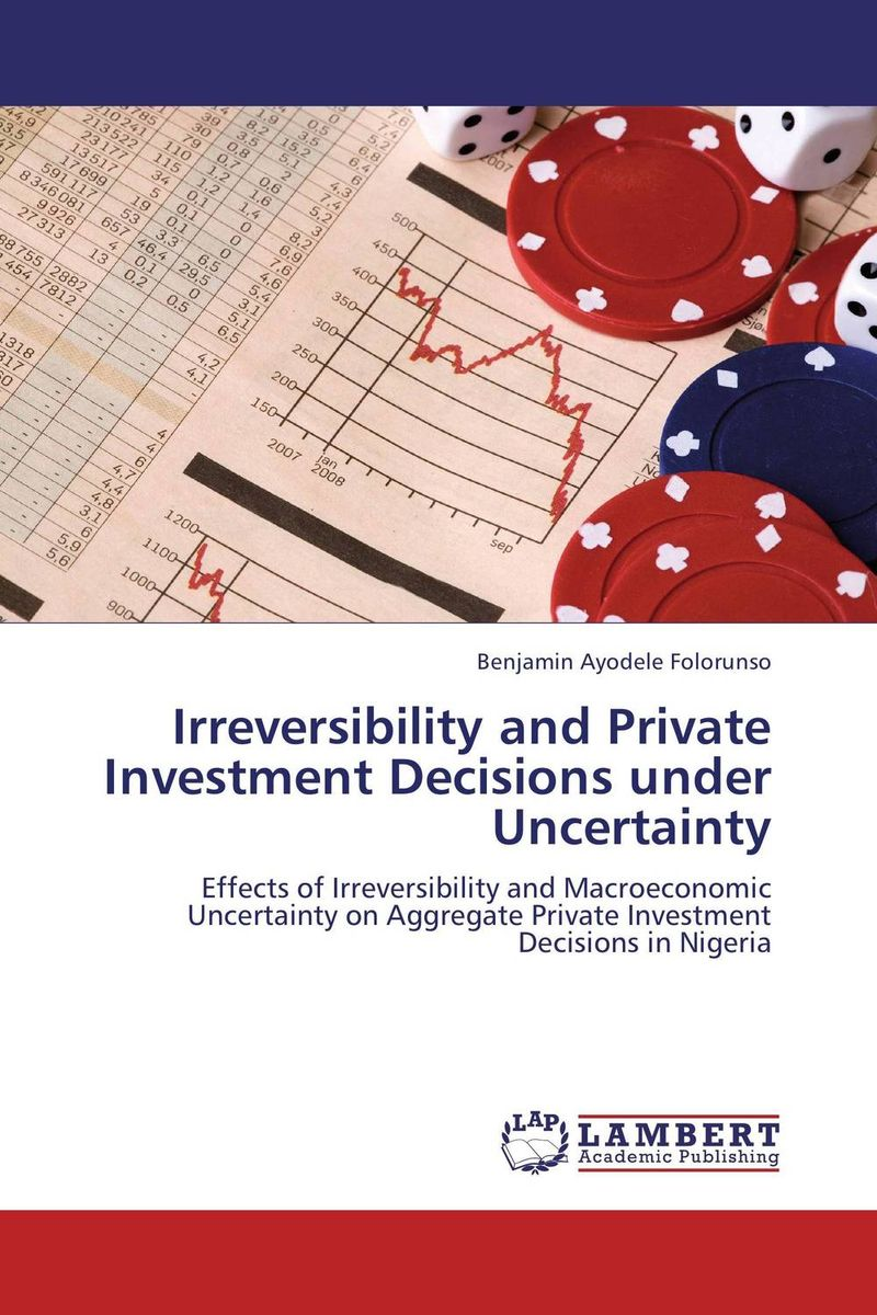 Irreversibility and Private Investment Decisions under Uncertainty surfactants effect on hardness of dental stone and investment material