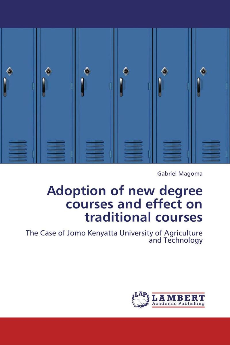 Adoption of new degree courses and effect on traditional courses