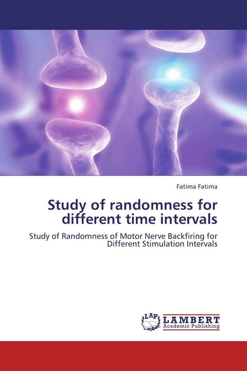 Study of randomness for different time intervals lambert lambert sweet apocalypse