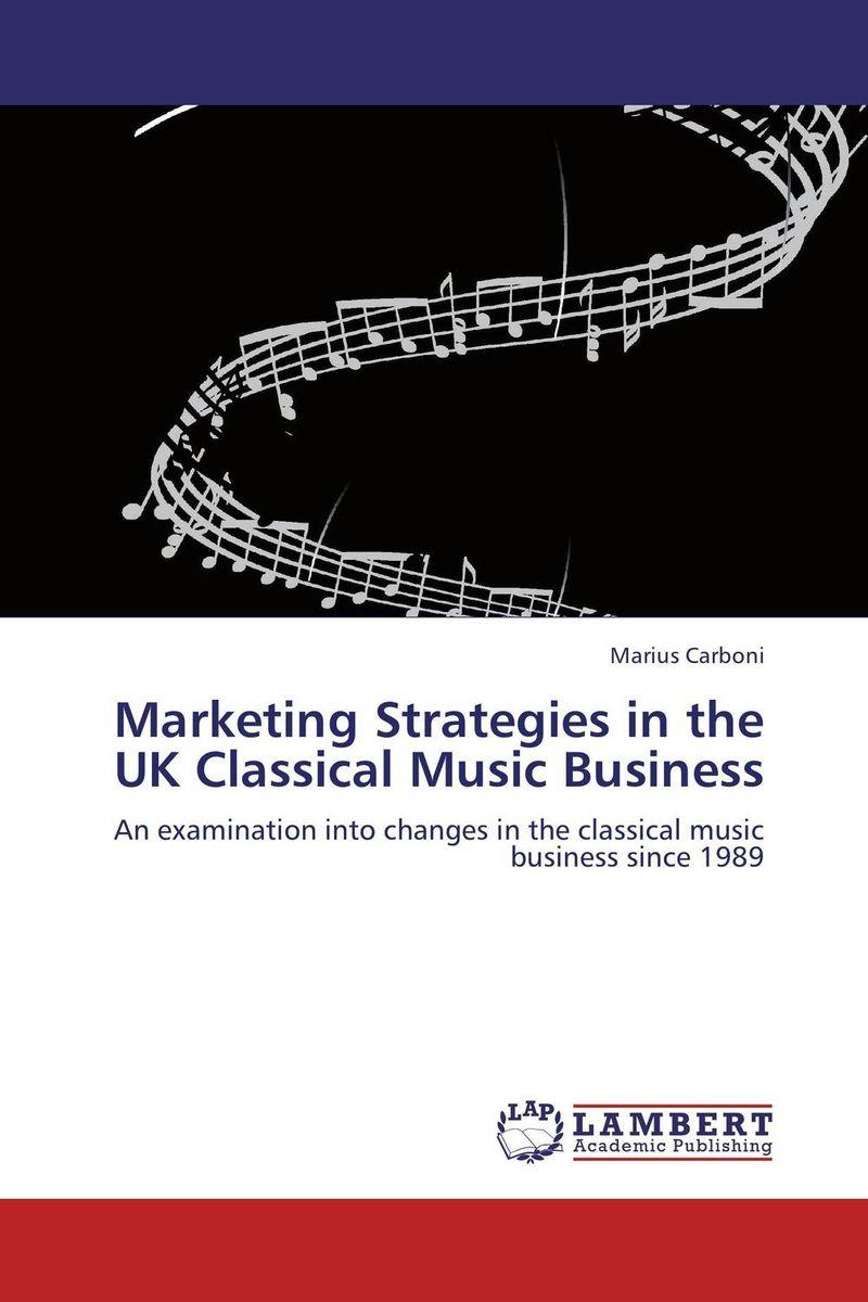 Marketing Strategies in the UK Classical Music Business вибротвистер trout pro catepillar длина 6 см 10 шт 35504