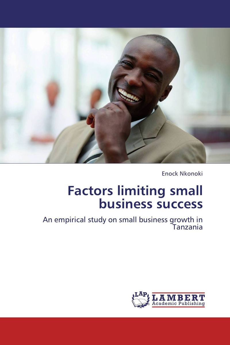Factors limiting  small business success