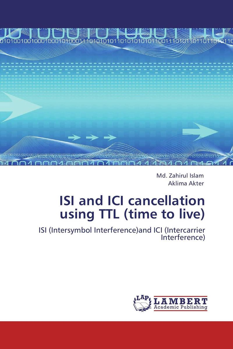 ISI and ICI cancellation using TTL (time to live) interference cancellation methods in mimo ofdm systems