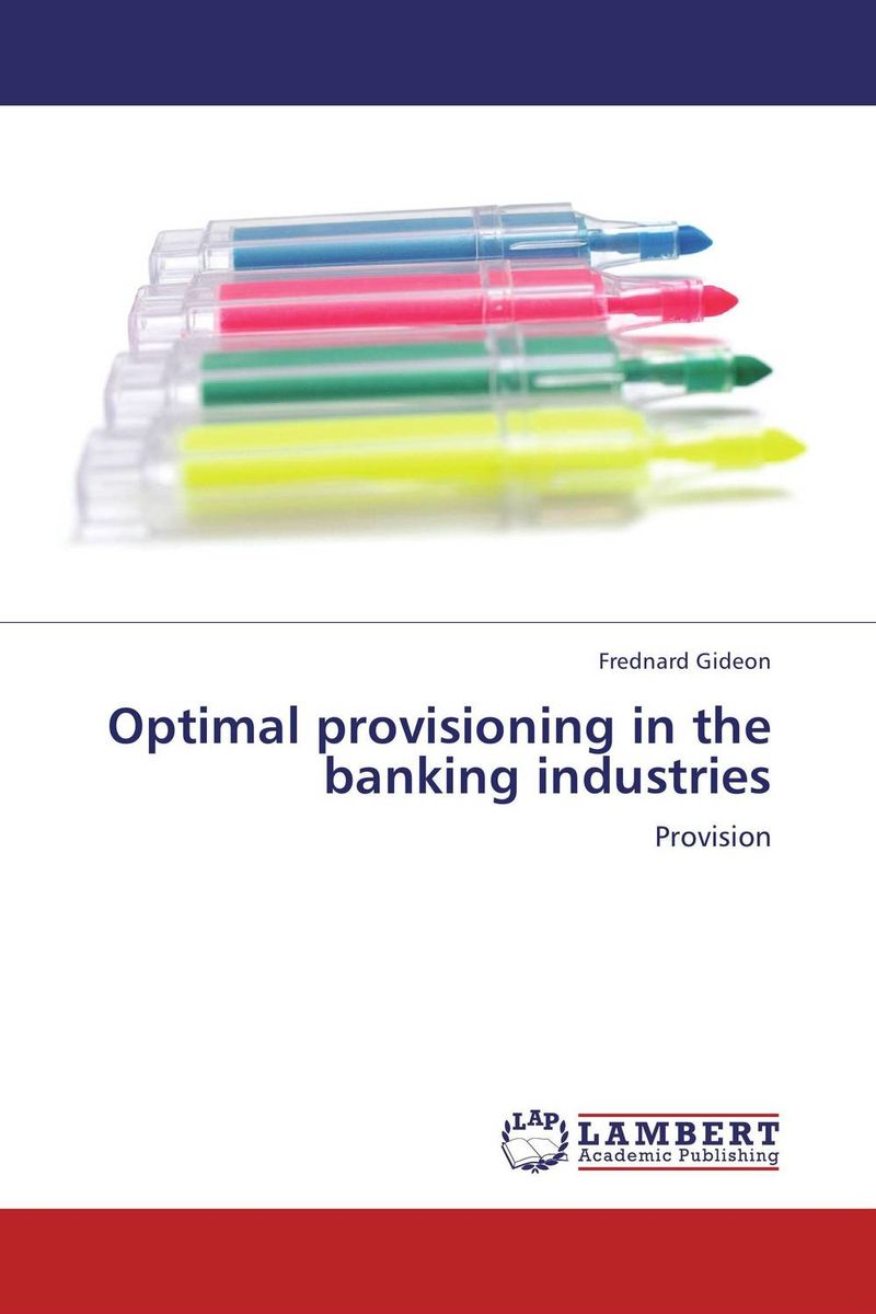 Optimal provisioning in the banking industries srichander ramaswamy managing credit risk in corporate bond portfolios a practitioner s guide