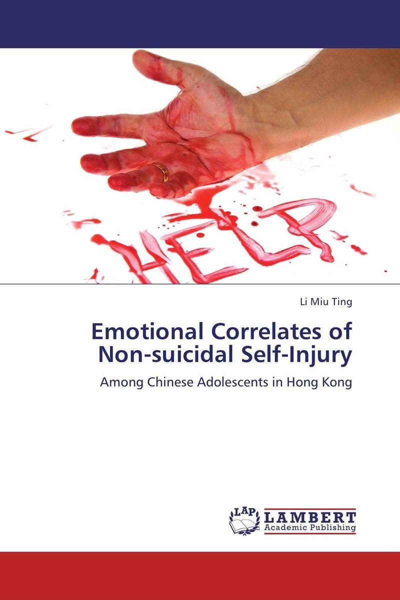 Emotional Correlates of Non-suicidal Self-Injury self esteem deficit suicidal tendencies and social support