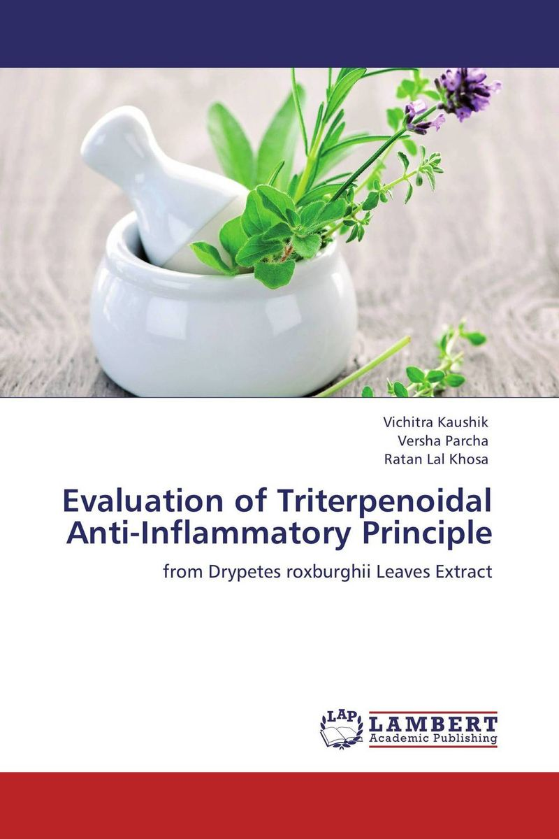 Evaluation of Triterpenoidal Anti-Inflammatory Principle arumugam madeswaran computational studies of anti inflammatory activity of some flavonoids