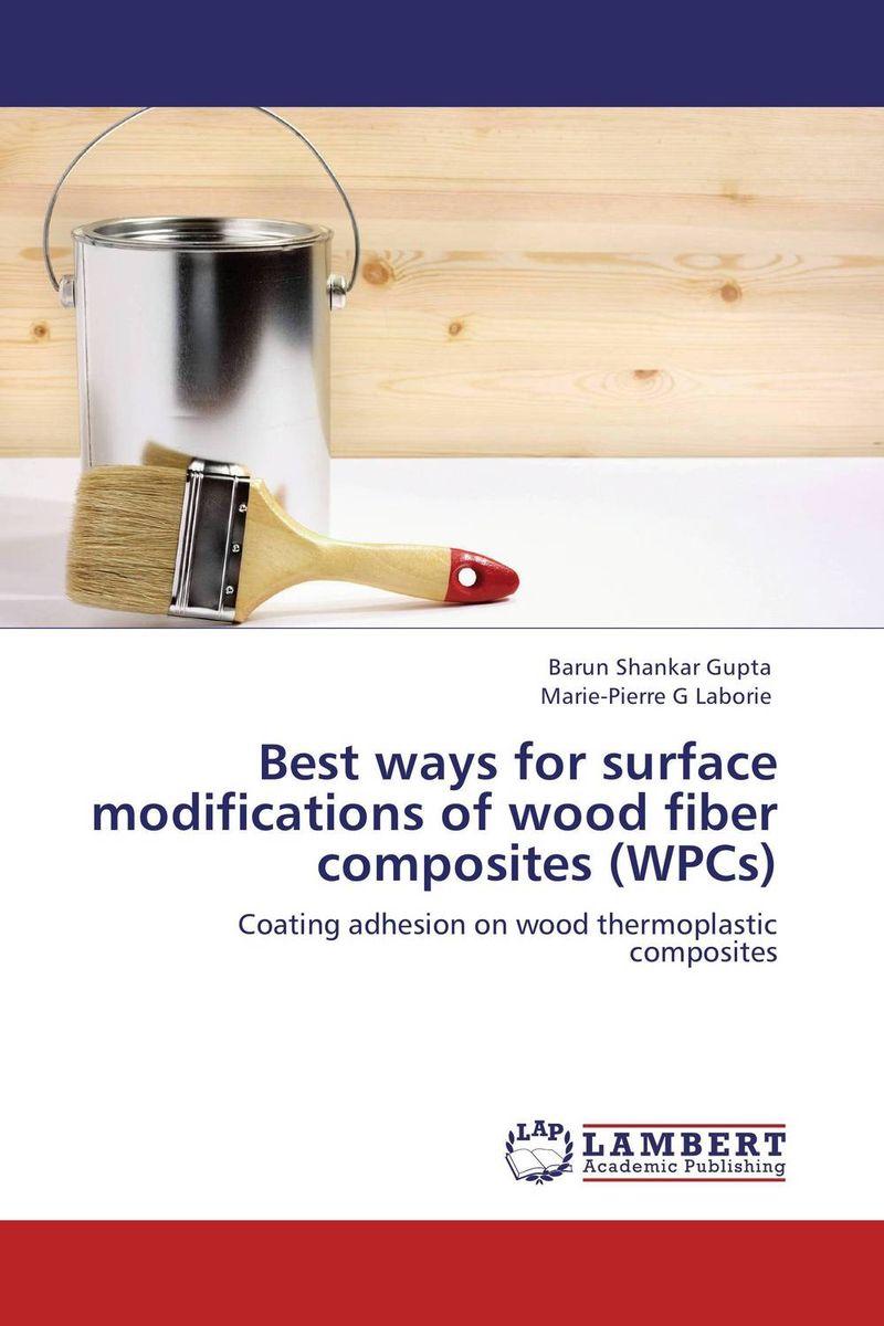 Best ways for surface modifications of wood fiber composites (WPCs) violet ugrat ways to heaven colonization of mars i