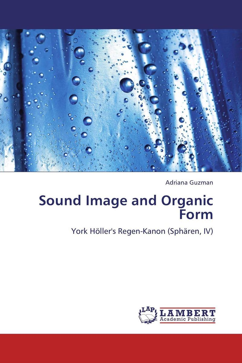Sound Image and Organic Form le rouge et le noir