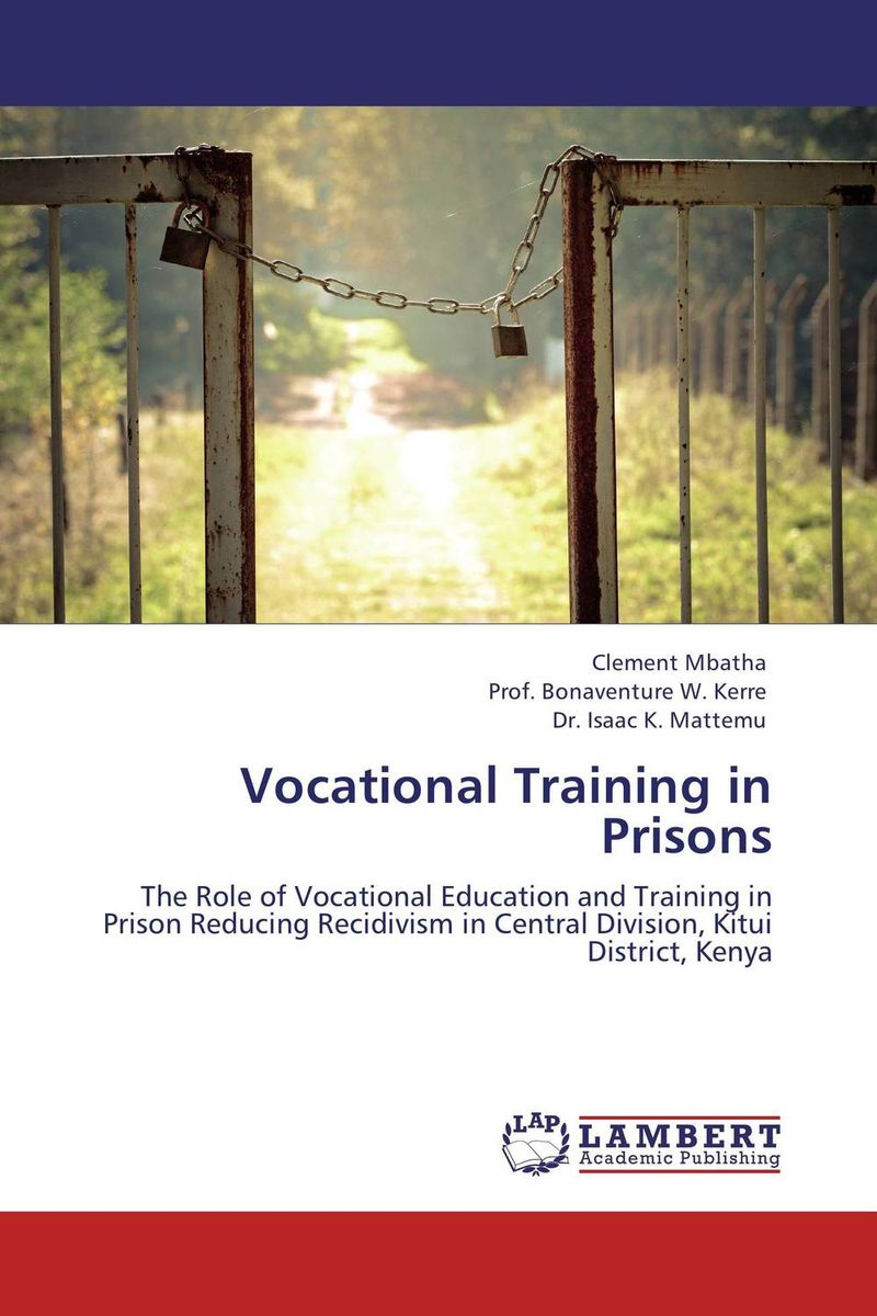 Vocational Training in Prisons education training and human rights of the prisoners