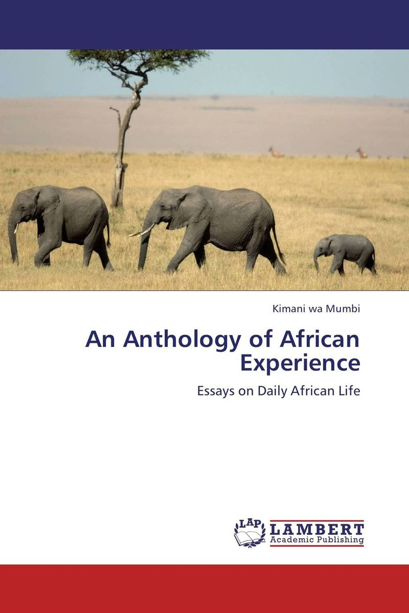 An Anthology of African Experience seeing things as they are