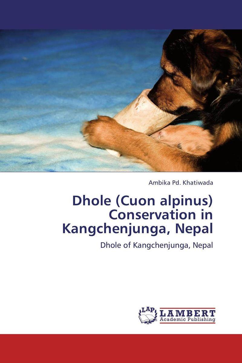 Dhole (Cuon alpinus) Conservation in Kangchenjunga, Nepal asiatic