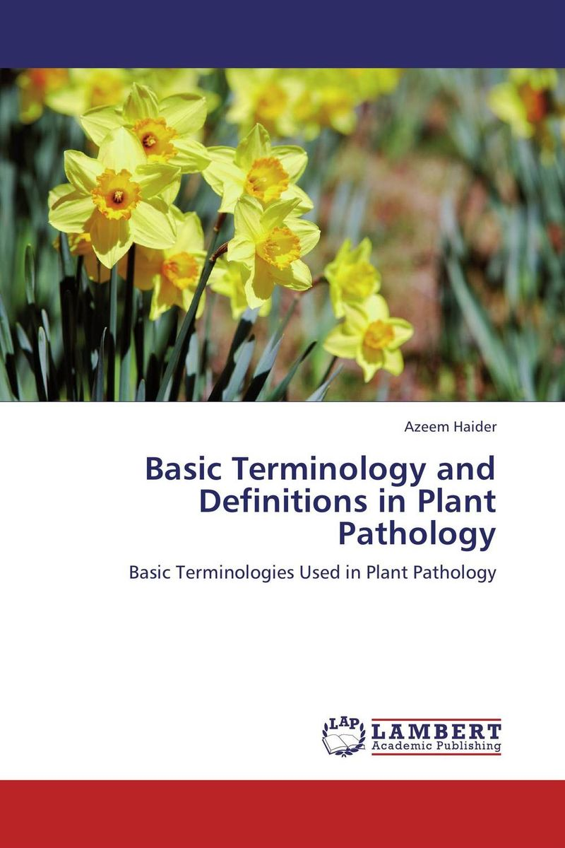 Basic Terminology and Definitions in Plant Pathology the use of preposition sense in semantic argument classification