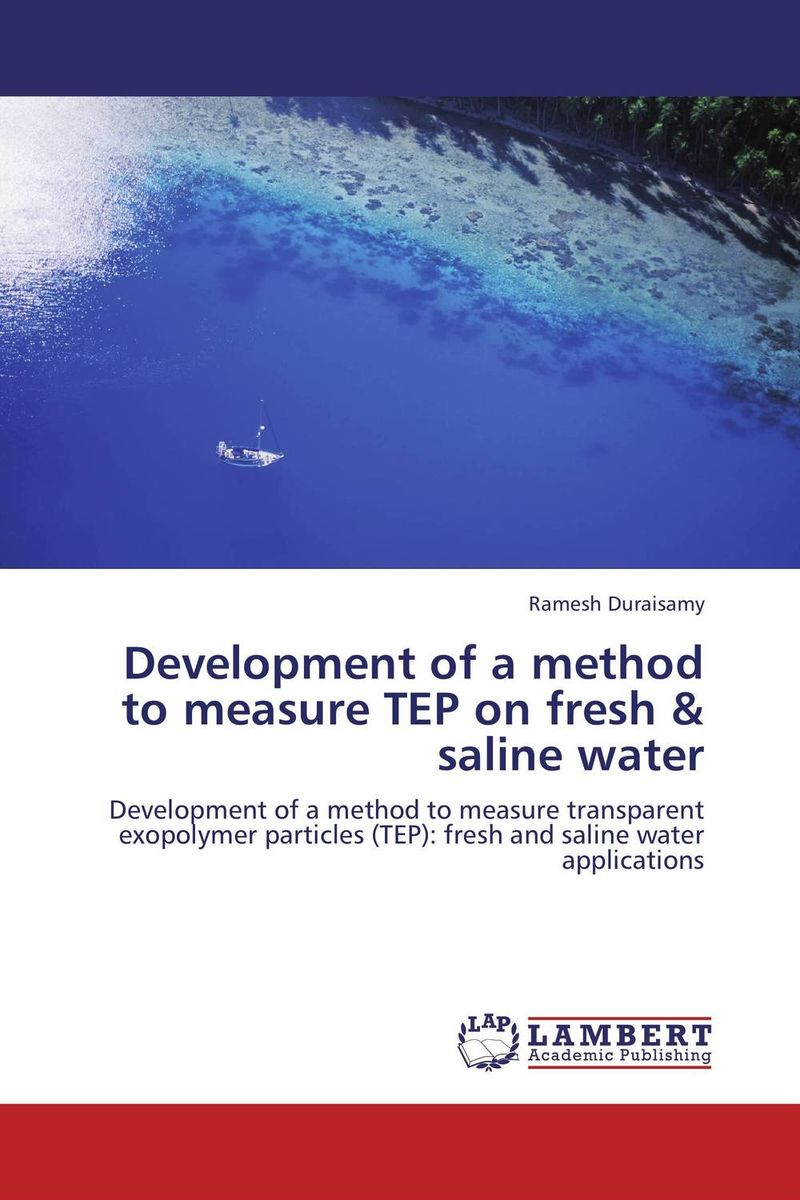 Development of a method to measure TEP on fresh & saline water thermo operated water valves can be used in food processing equipments biomass boilers and hydraulic systems