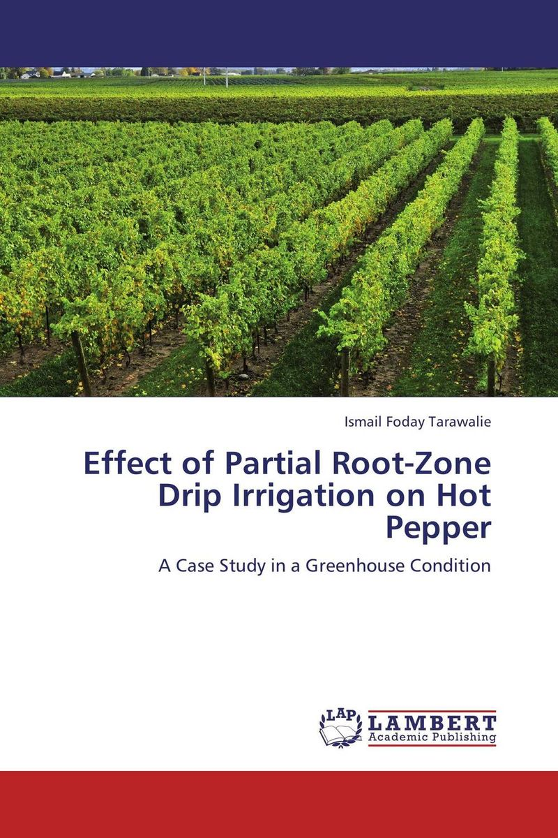 Effect of Partial Root-Zone Drip Irrigation on Hot Pepper root and canal morphology of third molar