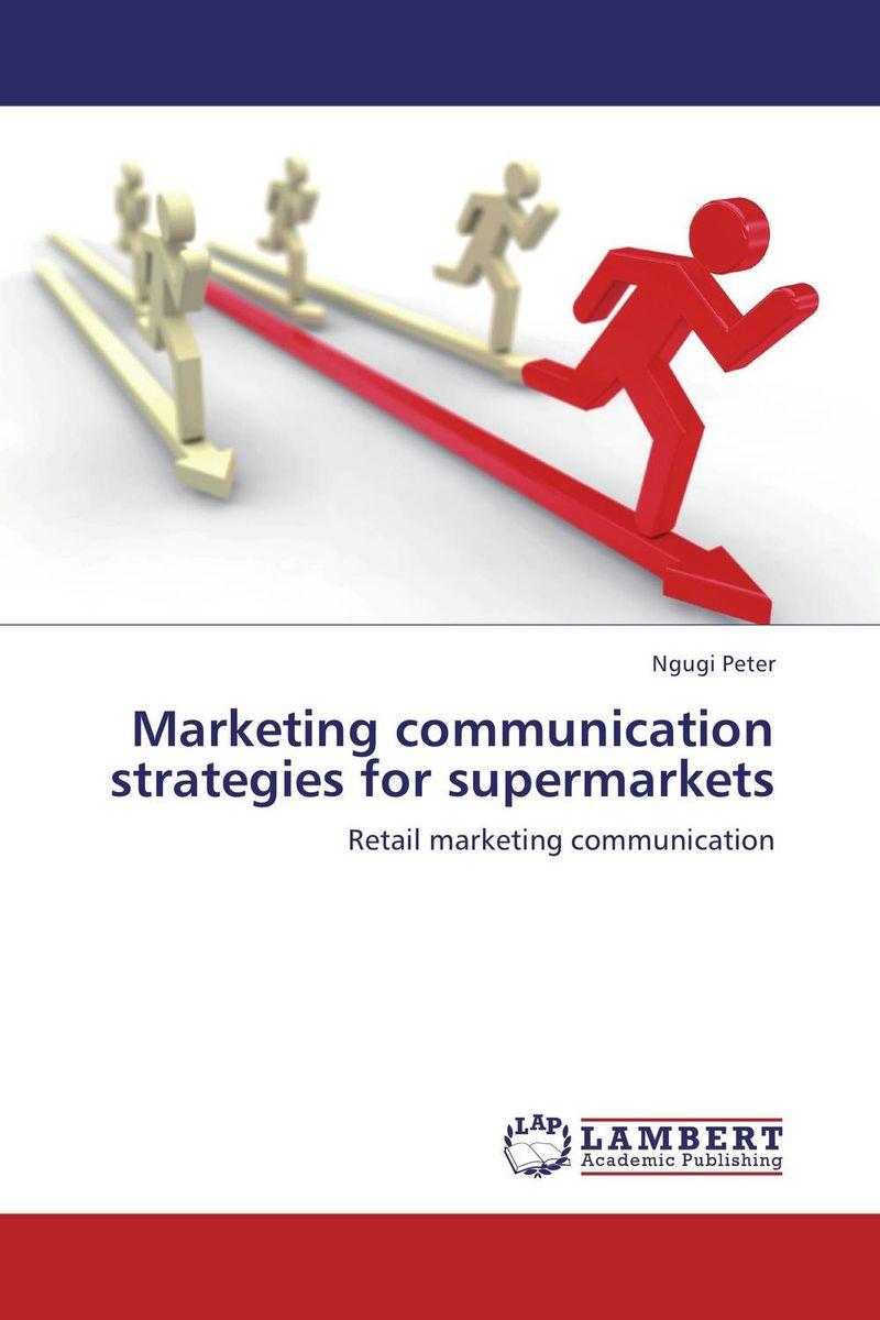 Marketing communication strategies for supermarkets