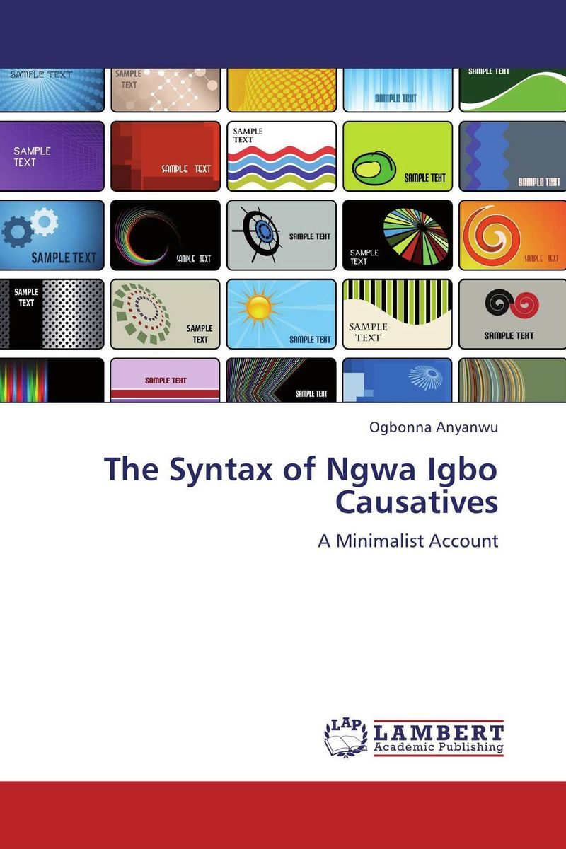 The Syntax of Ngwa Igbo Causatives more of me