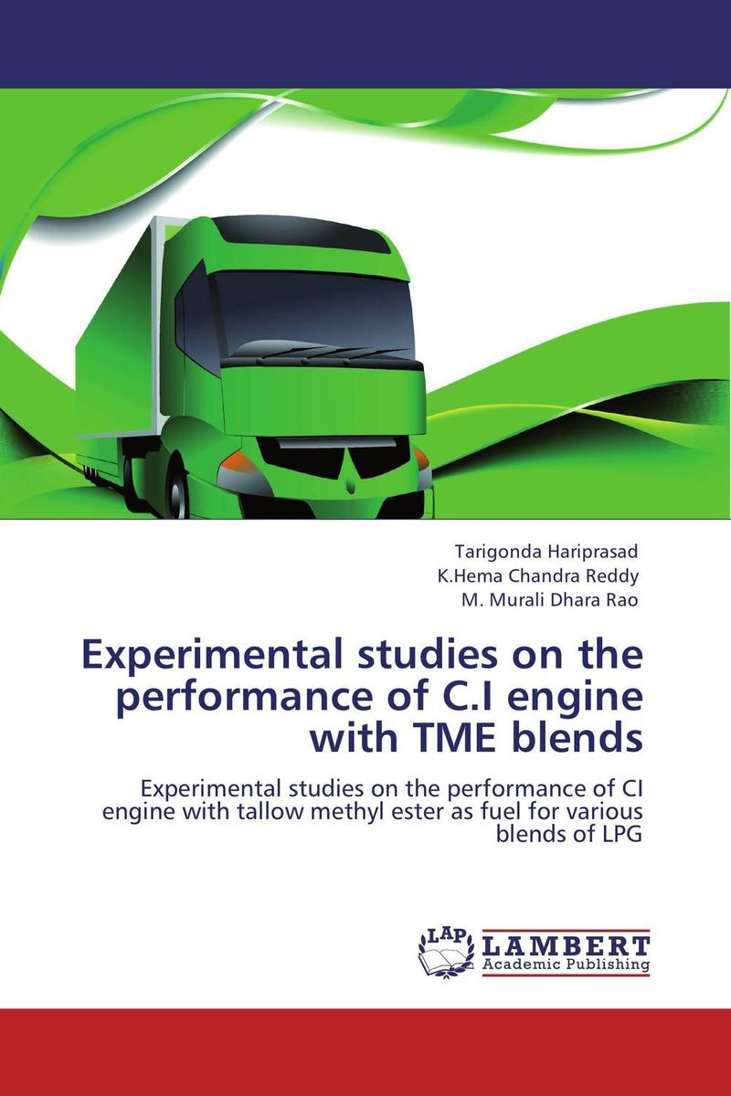 Experimental studies on the performance of C.I engine with TME blends experimental investigation of diesel engine fueled by biodiesel blends