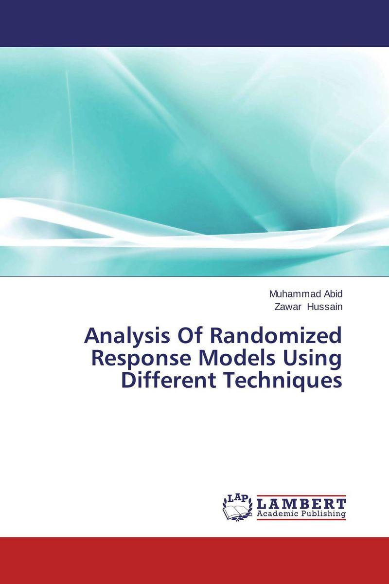 Analysis Of Randomized Response Models Using Different Techniques gurlal singh brar vineet inder singh khinda and ravi sher singh toor non pharmacological behaviour management