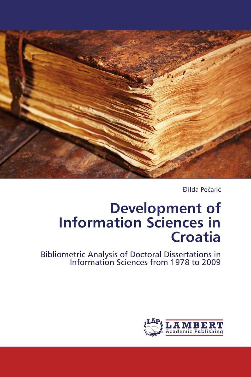 Development of Information Sciences in Croatia effect of information and communication technology on research and development activities