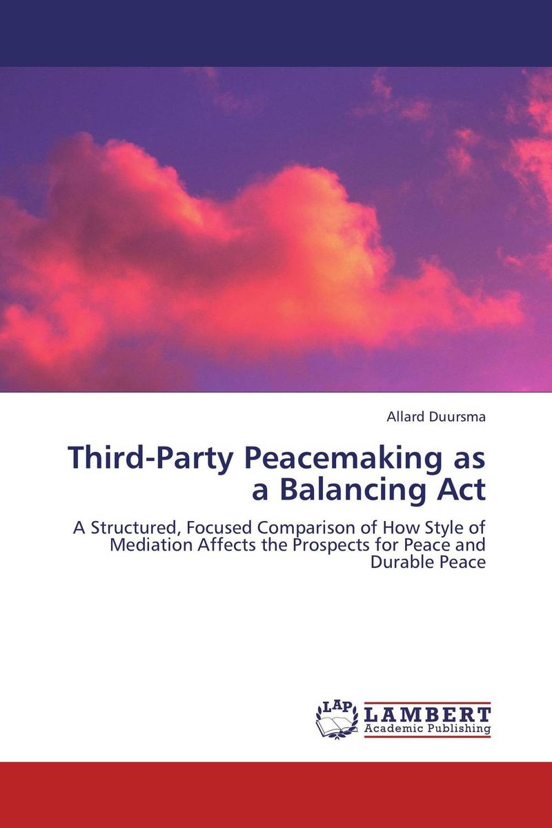 Third-Party Peacemaking as a Balancing Act a funny thing happened on the way to heaven or how i made peace with the paranormal and stigmatized zealots and cynics in the process