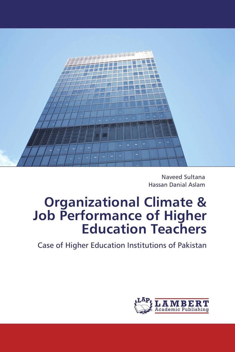 купить Organizational Climate & Job Performance of Higher Education Teachers недорого