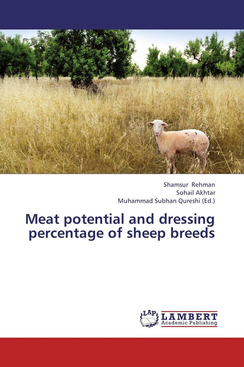 Meat potential and dressing percentage of sheep breeds