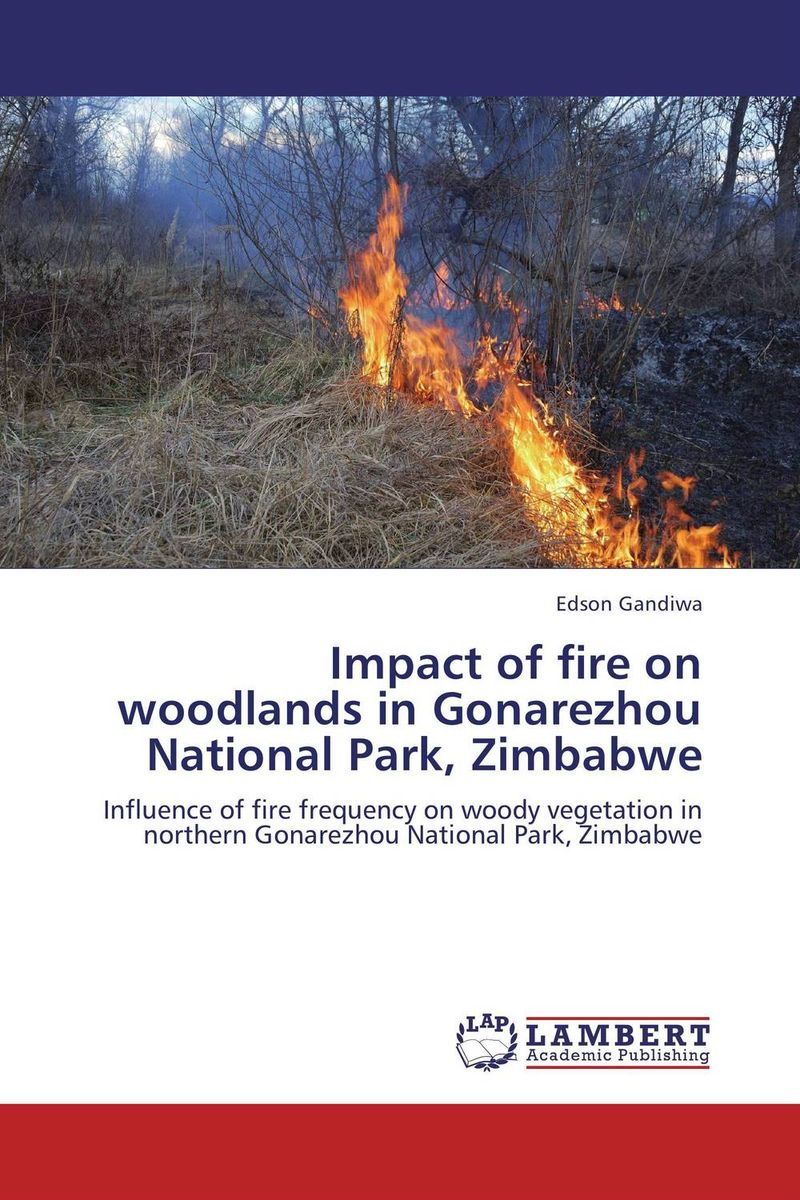 Impact of fire on woodlands in Gonarezhou National Park, Zimbabwe impact 185 r