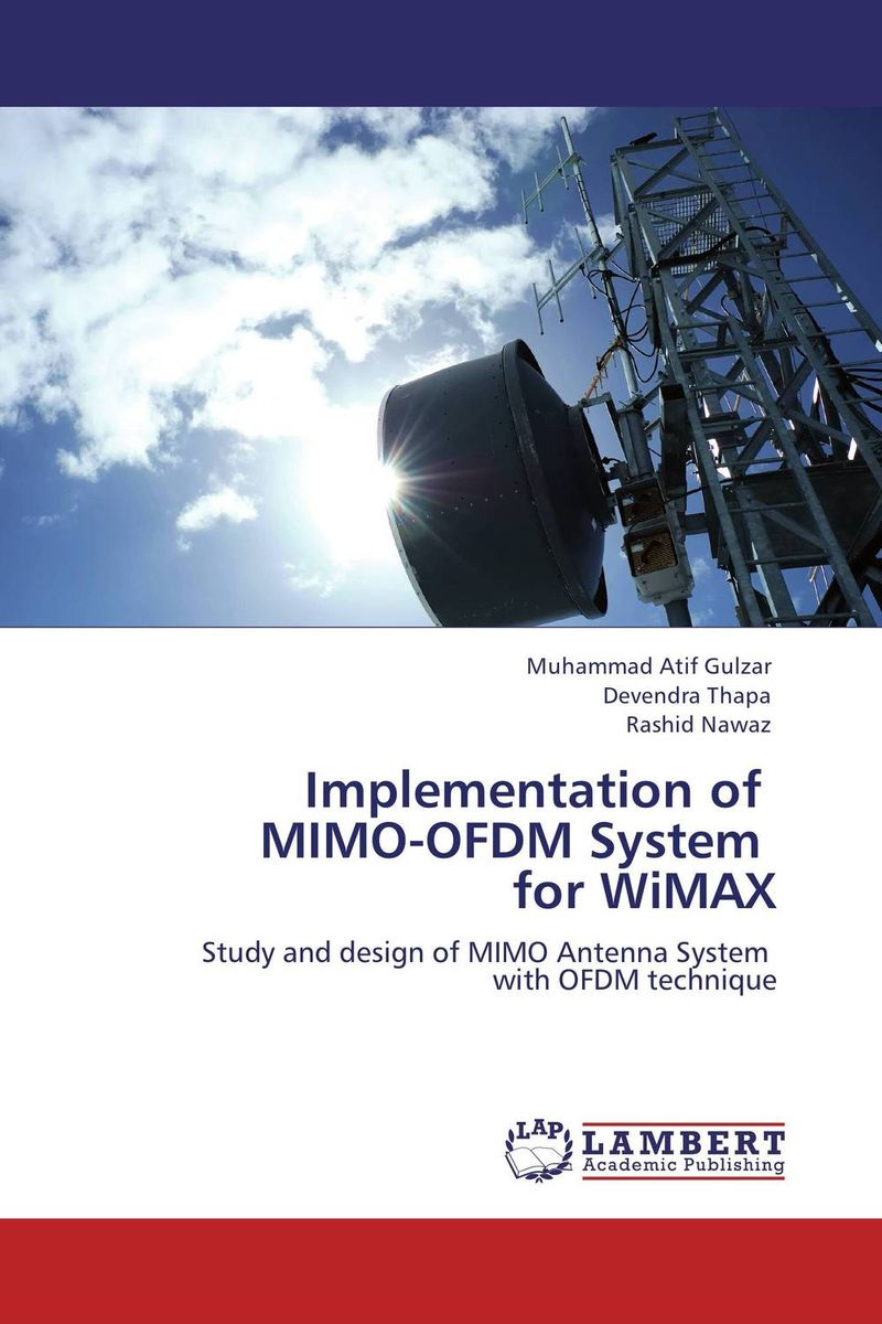 Implementation of   MIMO-OFDM System   for WiMAX купить