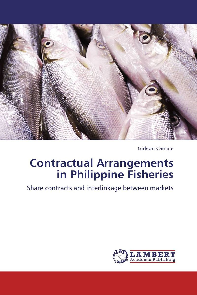 Contractual Arrangements in Philippine Fisheries the borrower