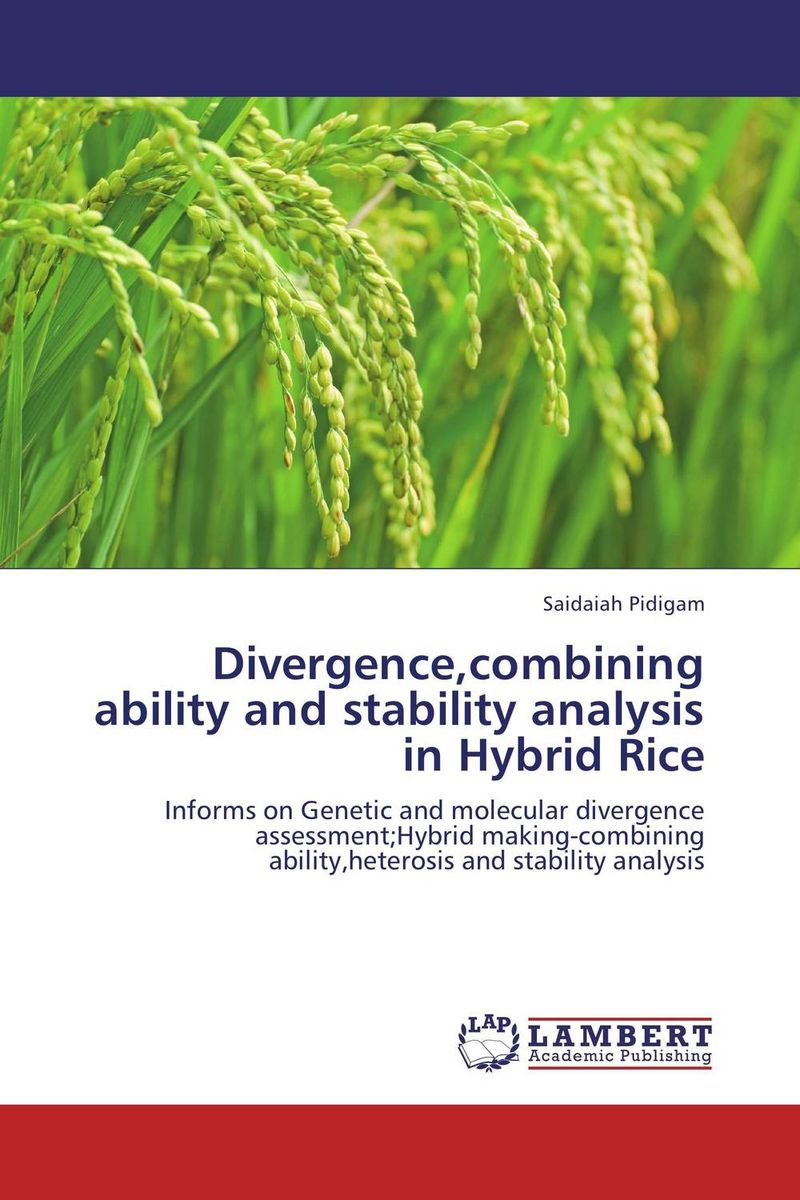 Divergence,combining ability and stability analysis in Hybrid Rice stem bromelain in silico analysis for stability and modification