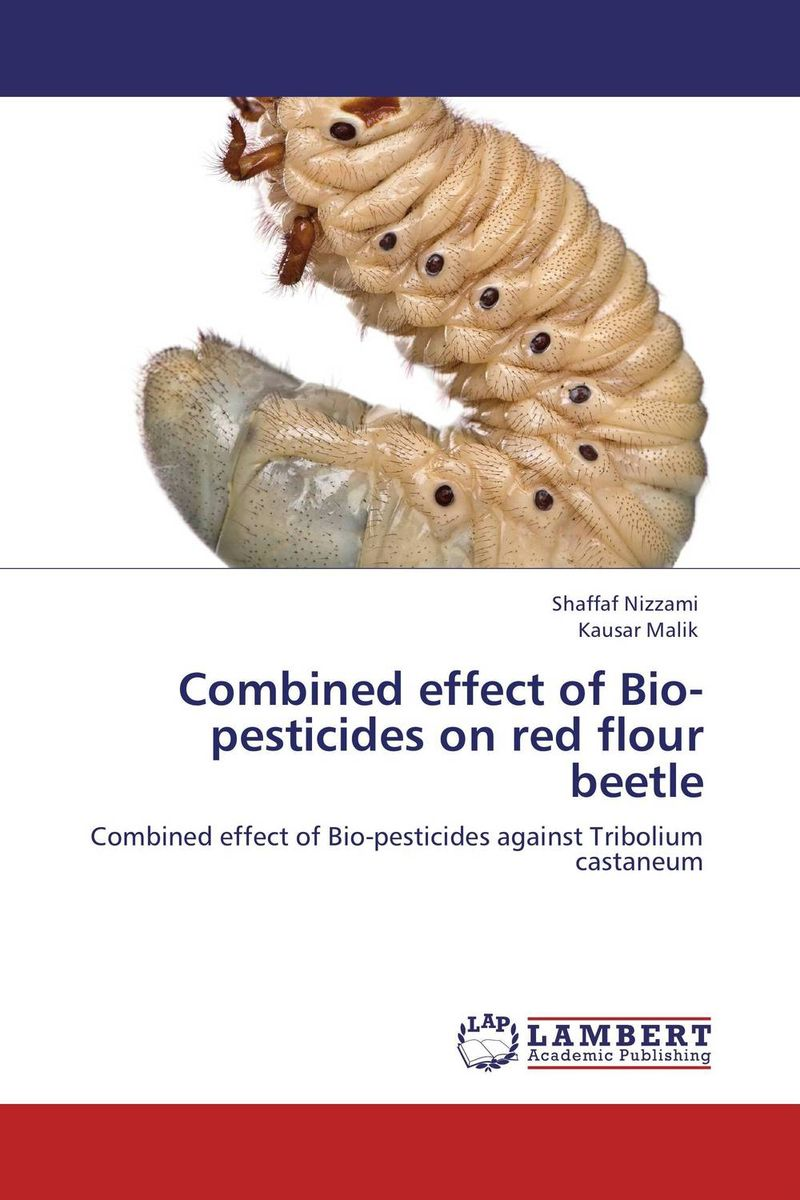 Combined effect of Bio-pesticides on red flour beetle devices for detection and management of stored grain insects