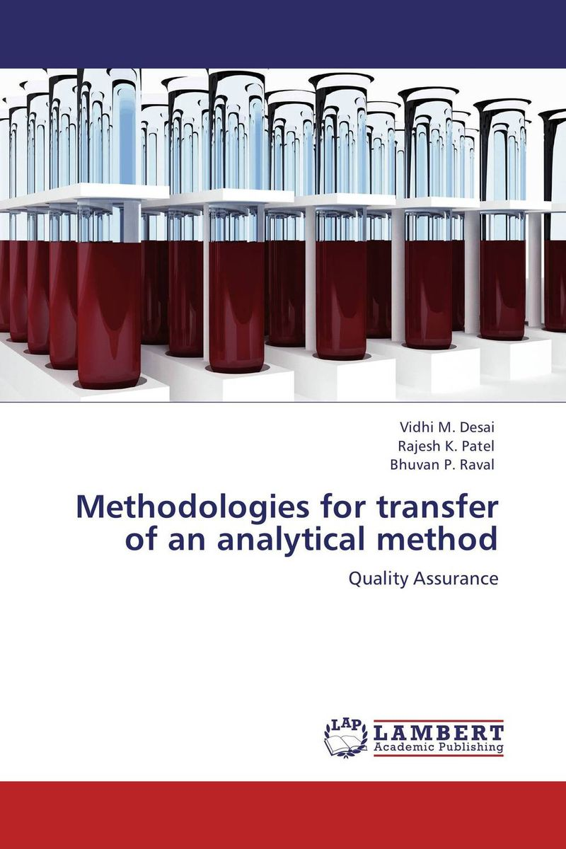 Methodologies for transfer of an analytical method alpaben patel control schemes for an analytical process data