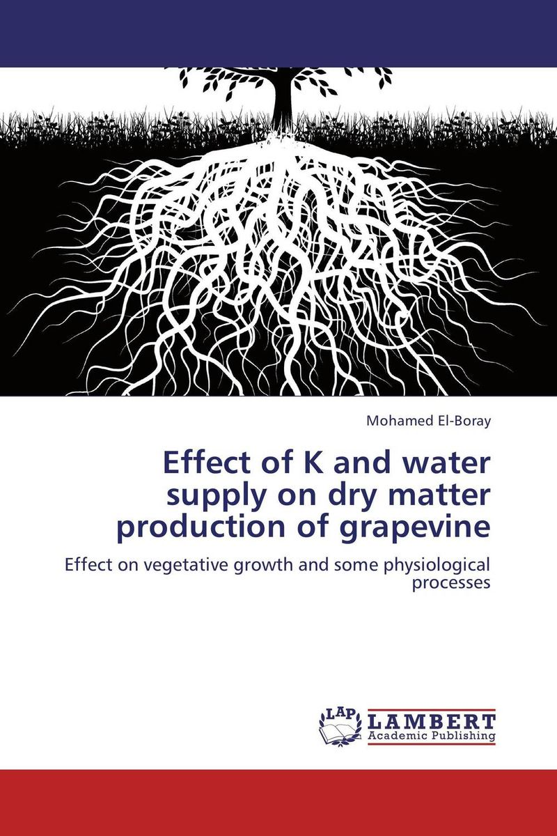 Effect of K and water supply on dry matter production of grapevine