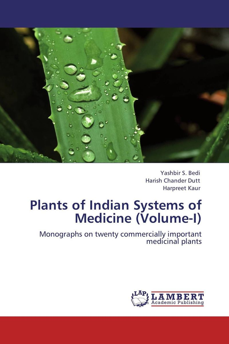 Plants of Indian Systems of Medicine (Volume-I) legal systems of the contemporary world monograph