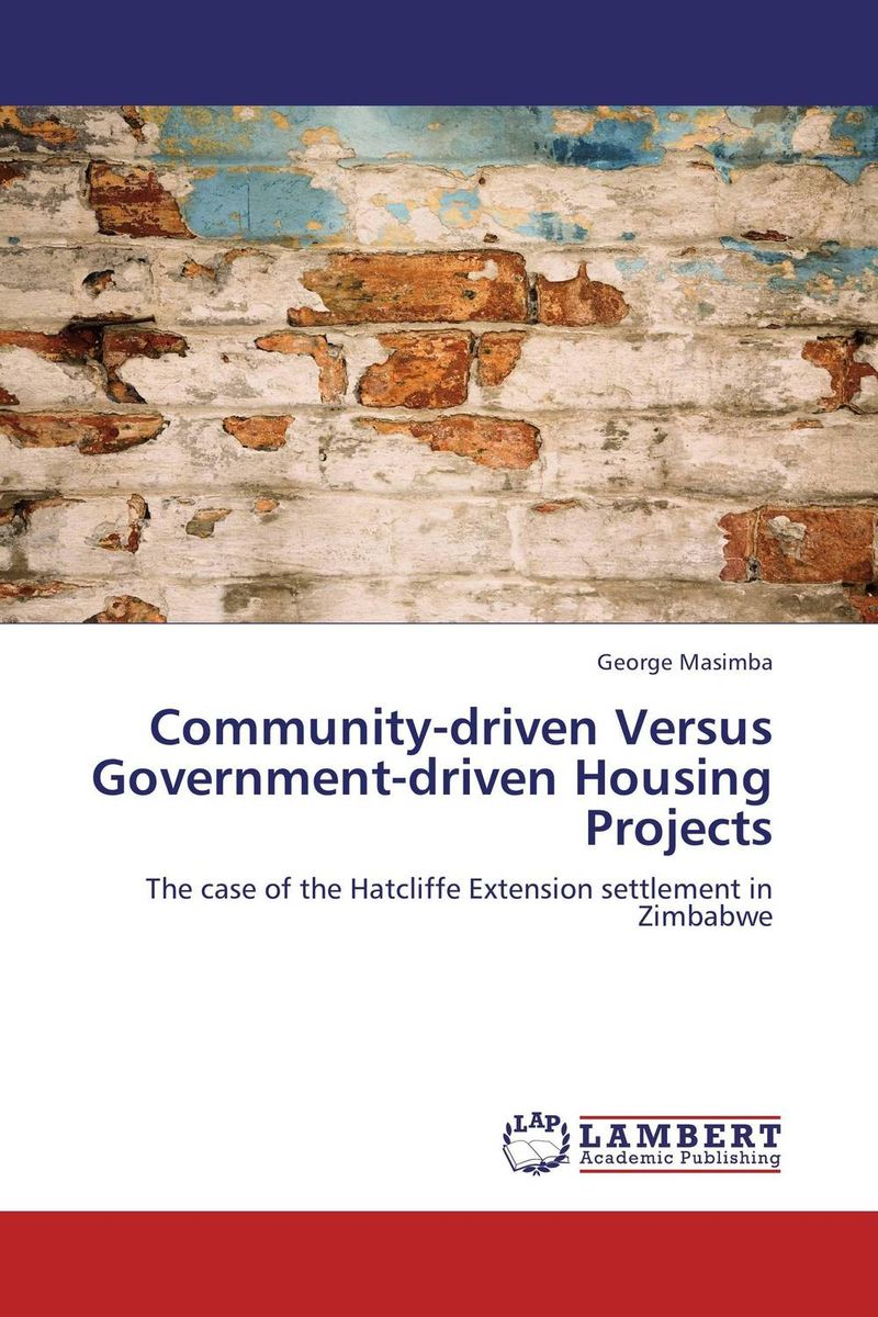 Community-driven Versus Government-driven Housing Projects driven to distraction