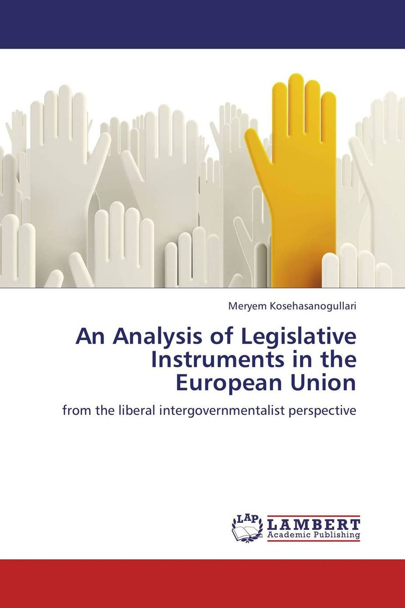 An Analysis of Legislative Instruments in the European Union handbook of the exhibition of napier relics and of books instruments and devices for facilitating calculation