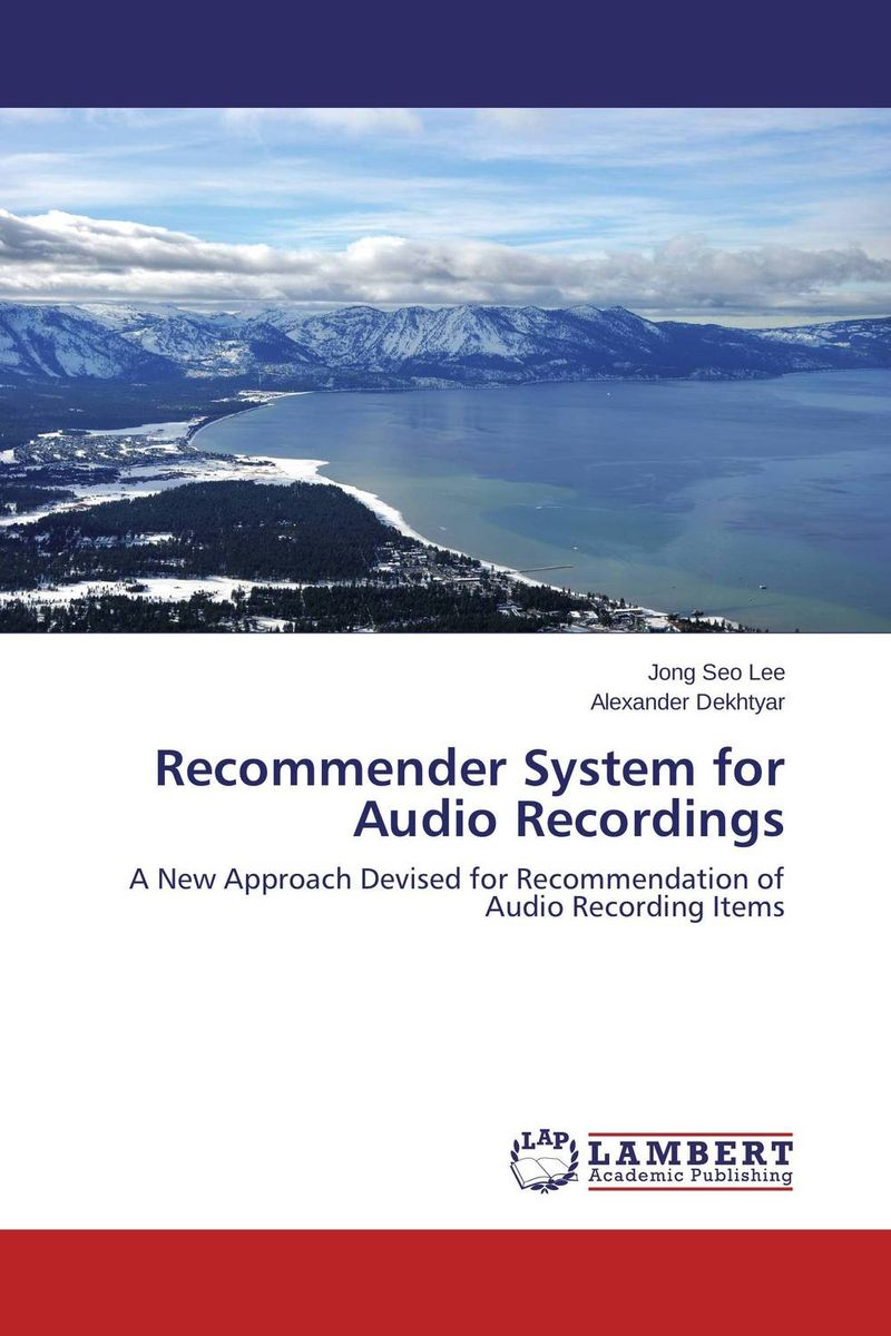 Recommender System for Audio Recordings food e commerce