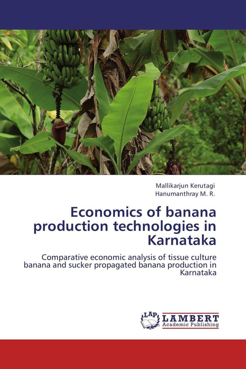 Economics of banana production technologies in Karnataka economics of milk production in nepal