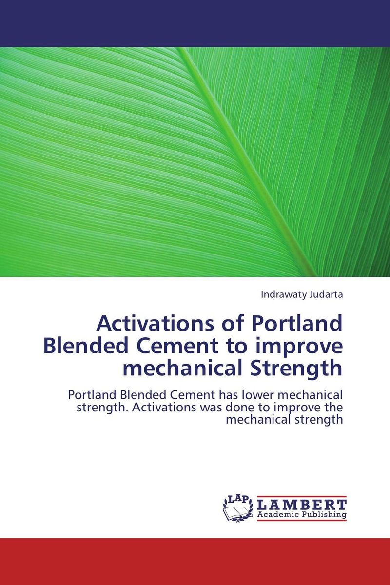 Activations of Portland Blended Cement to improve mechanical Strength рюкзак portland
