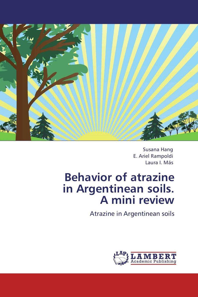 Behavior of atrazine  in Argentinean soils.  A mini review