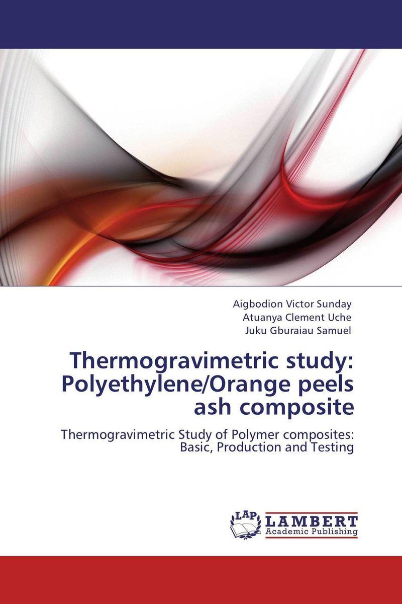 Thermogravimetric study: Polyethylene/Orange peels ash composite raman bedi rakesh chandra and s p singh fatigue studies on glass fiber reinforced composite materials