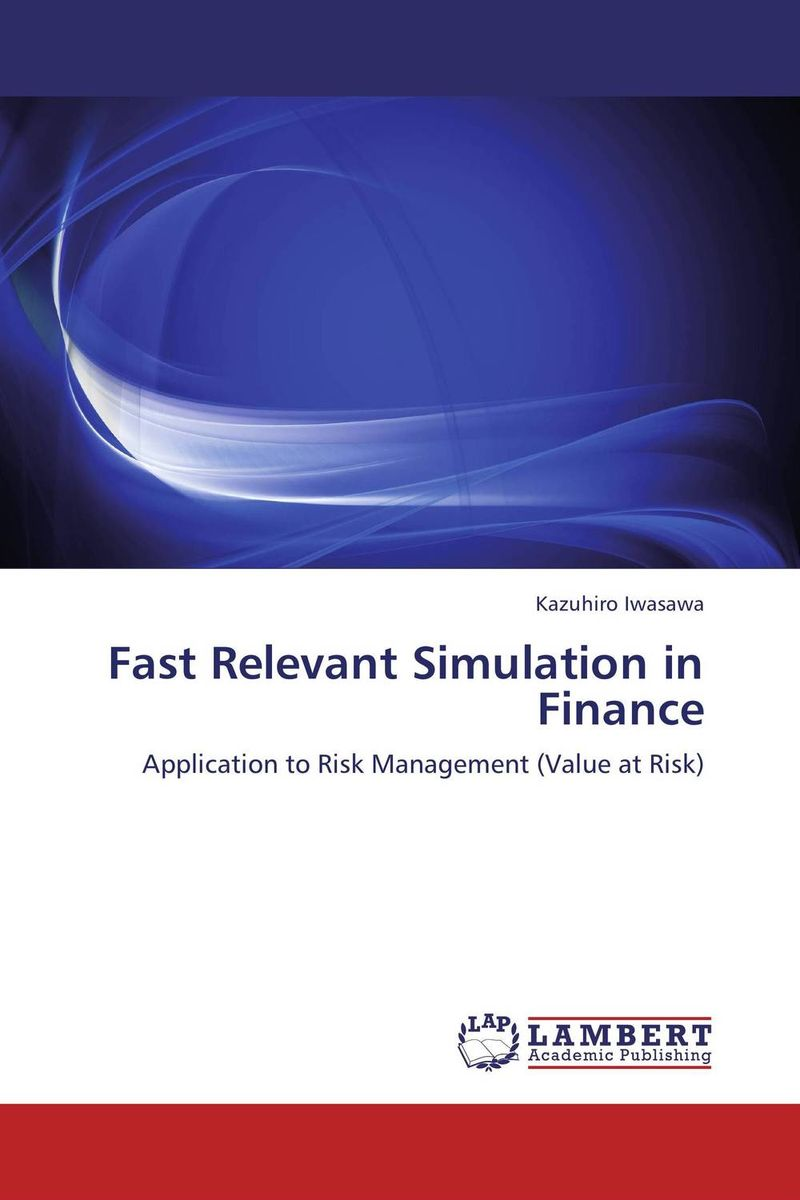 Fast Relevant Simulation in Finance monte carlo techniques for electron radiotherapy