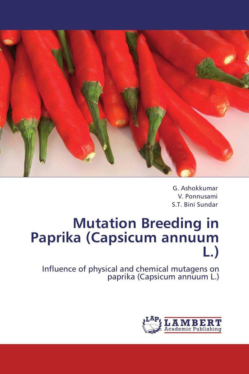 Mutation Breeding in Paprika (Capsicum annuum L.) rakesh kumar dubey and hari har ram bottlegourd breeding