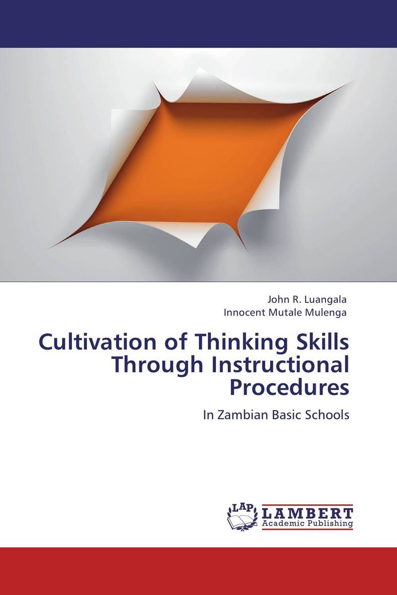 Cultivation of Thinking Skills Through Instructional Procedures antonaros s the teacher s basic tools making our lessons memorable