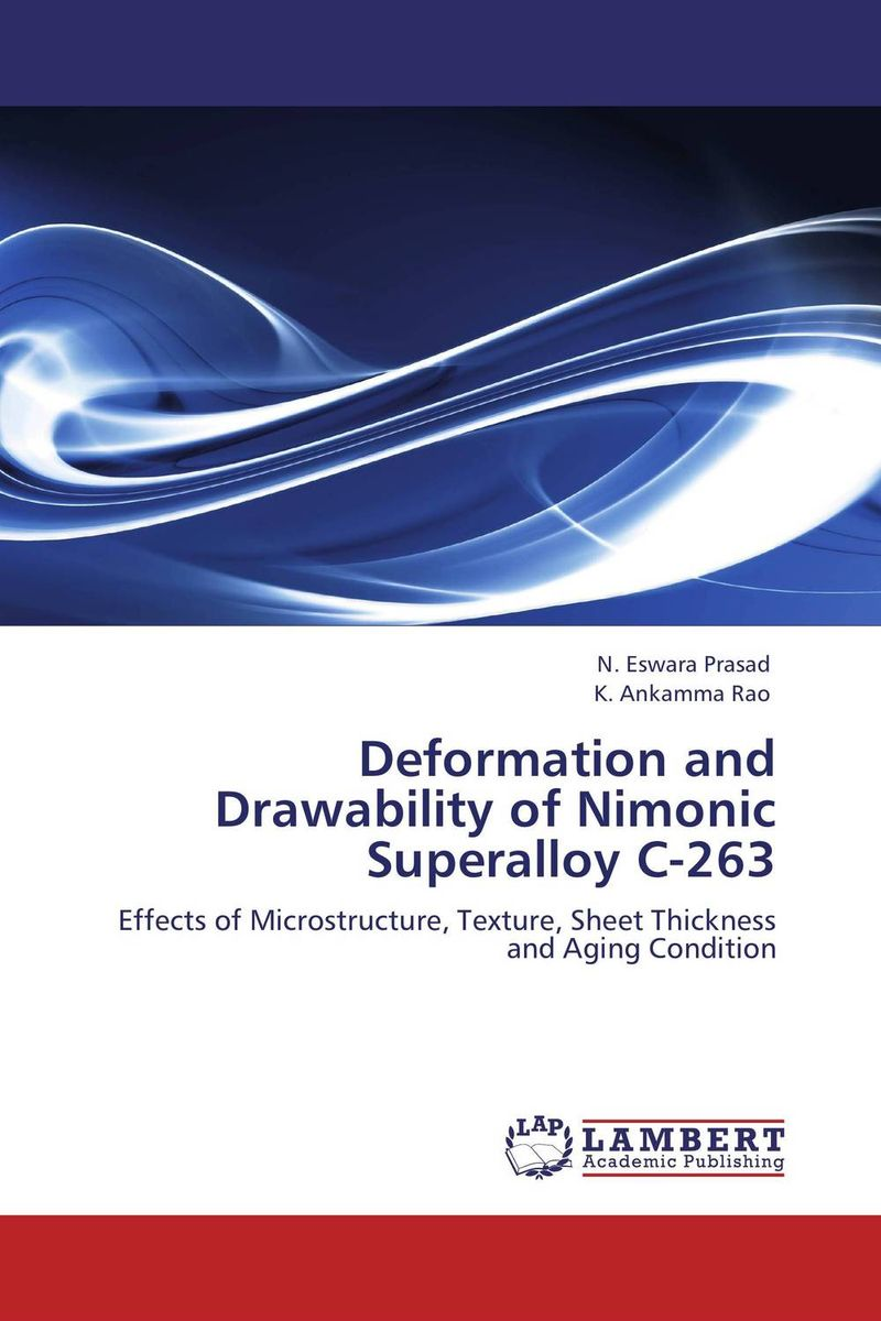 Deformation and Drawability of Nimonic Superalloy C-263 evaluation of aqueous solubility of hydroxamic acids by pls modelling