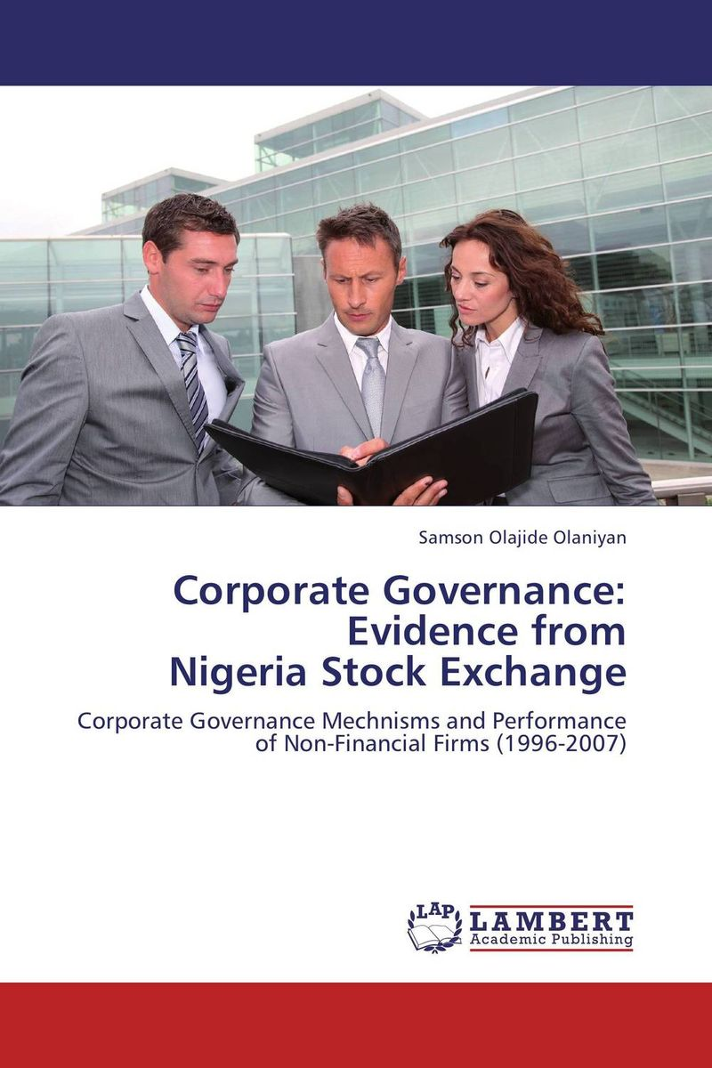Corporate Governance: Evidence from Nigeria Stock Exchange srichander ramaswamy managing credit risk in corporate bond portfolios a practitioner s guide