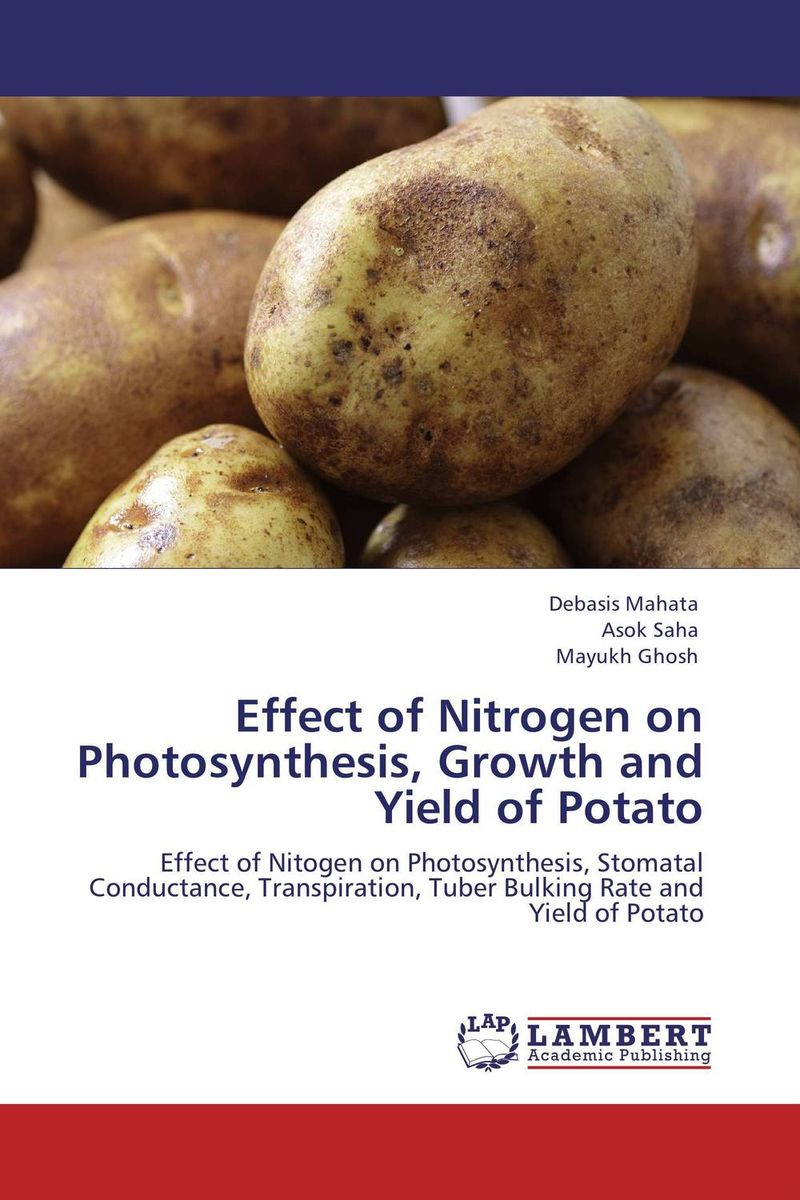 Effect of Nitrogen on Photosynthesis, Growth and Yield of Potato cleto namoobe and rajender kumar nanwal growth yield and quality of sorghum as influenced by nitrogen levels