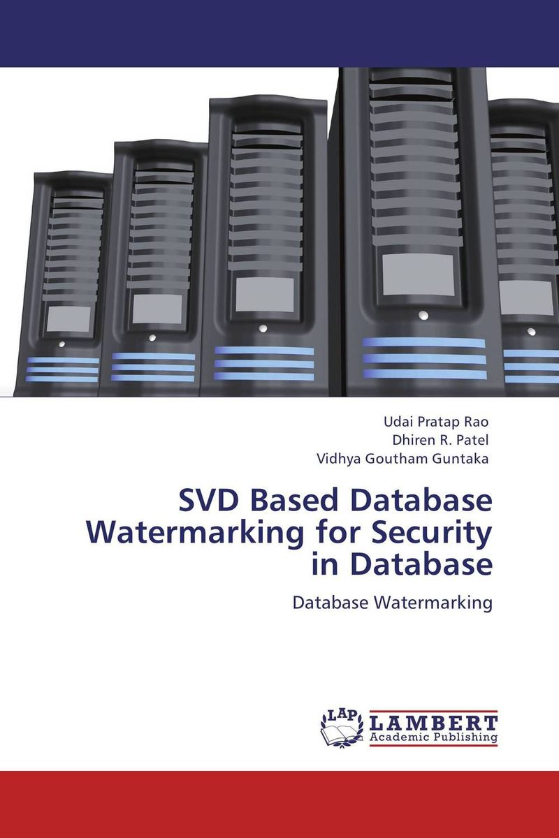 SVD Based Database Watermarking for Security in Database color image watermarking using matlab