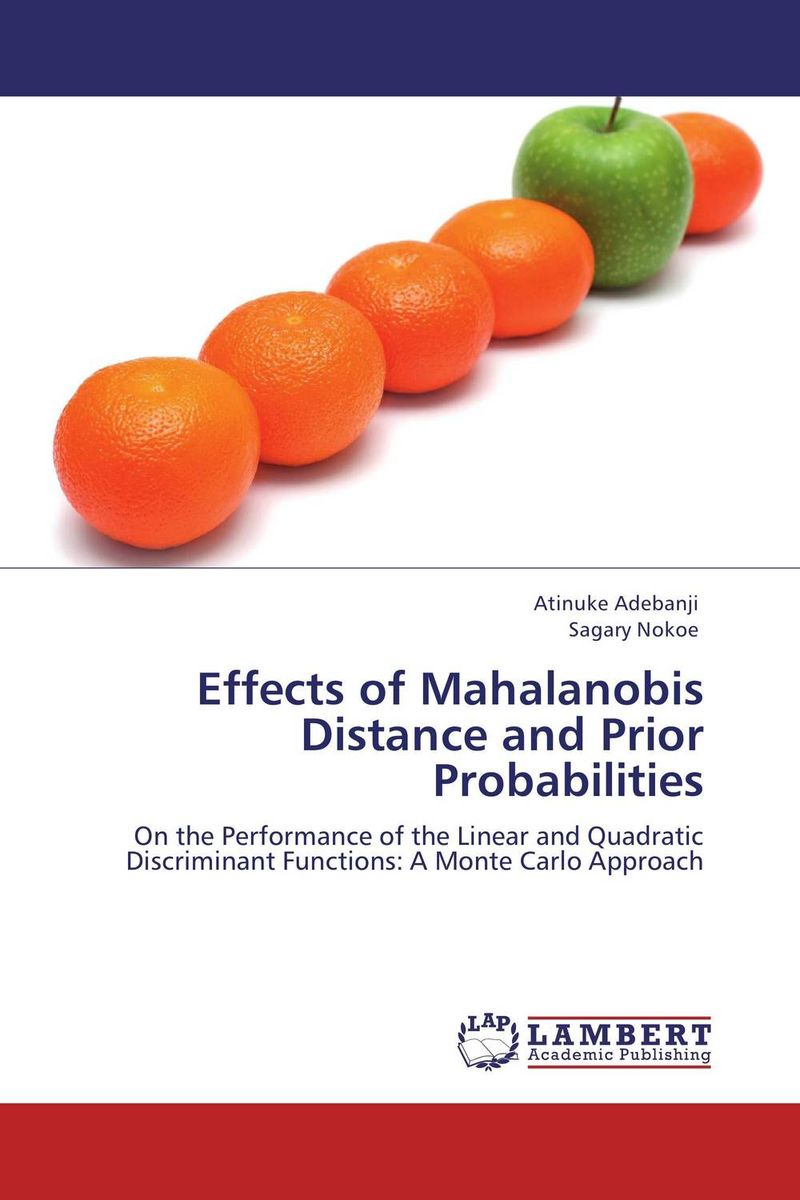 Effects of Mahalanobis Distance and Prior Probabilities multivariate order statistics under random sample size
