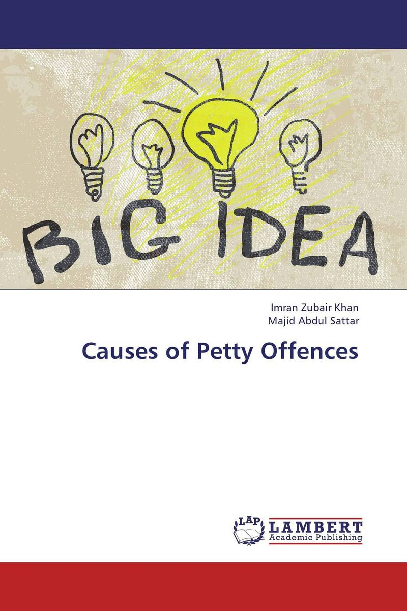 Causes of Petty Offences some thoughts on the common toad