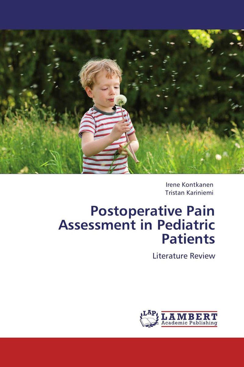 купить Postoperative Pain Assessment in Pediatric Patients недорого